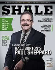 SHALE Magazine Cover March April 2014 Hallburton Paul Sheppard