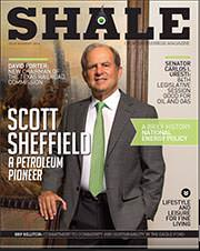 Scott Sheffield Cover Shale Magazine