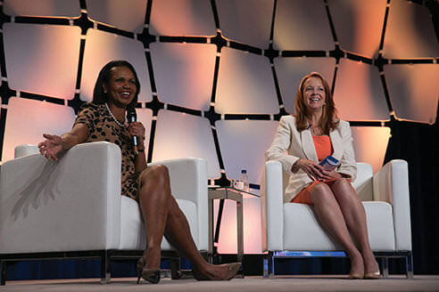Regina with Condoleeza Rice GEC 2014
