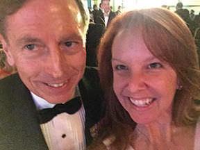Regina with David Petraeus