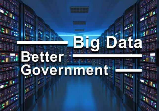 Server room interior in datacenter - Big Data, Better Government - Senator Carlos I. Uresti