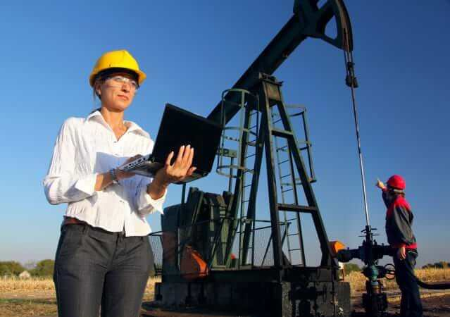 women oilfield workers