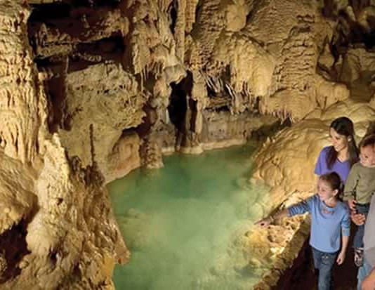 Natural Bridge Caverns Featured
