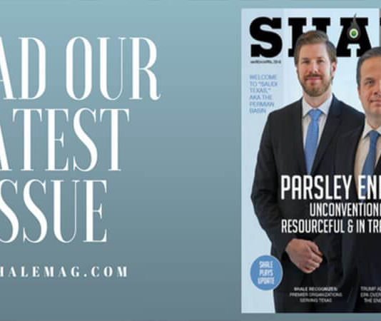 SHALE Magazine March April 2018 Parsley Energy
