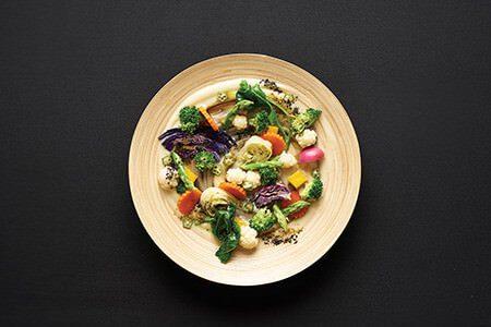 Chiva Som Steamed Vegetables