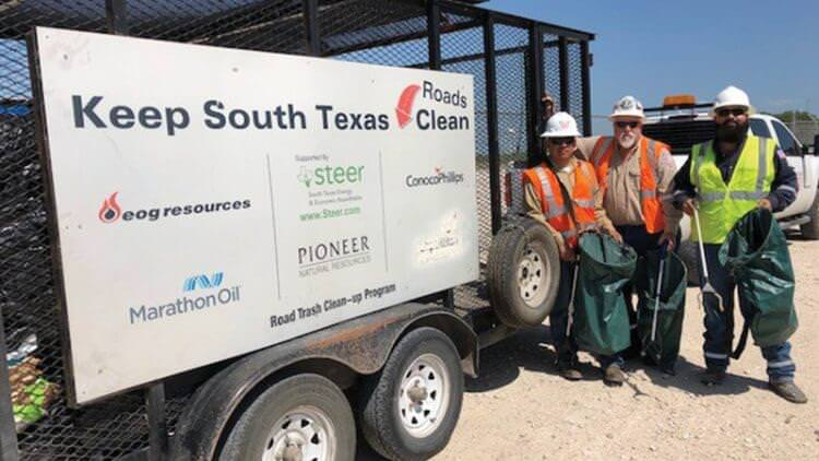 STEER South Texas Trash Clean Up Article May 2018 Featured