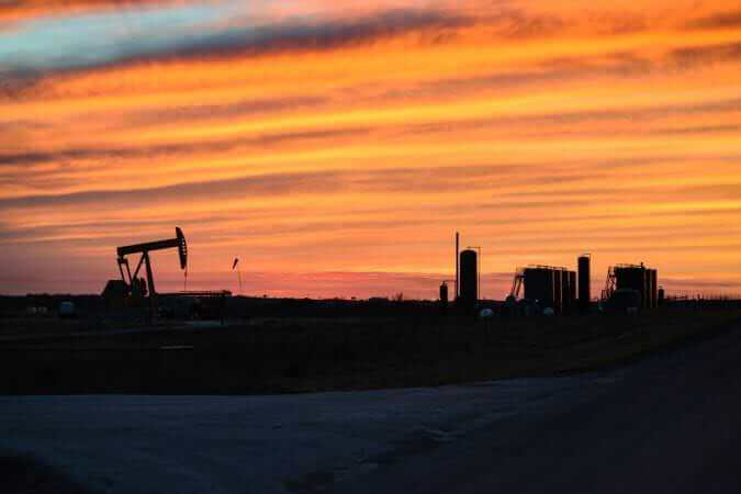 Permian Basin Oil Field
