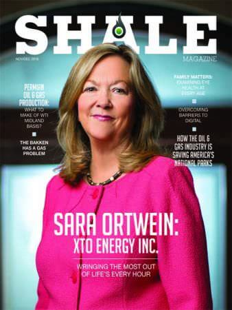 SHALE Nov Dec 2018 Cover Sara Ortwein XTO Energy Inc.