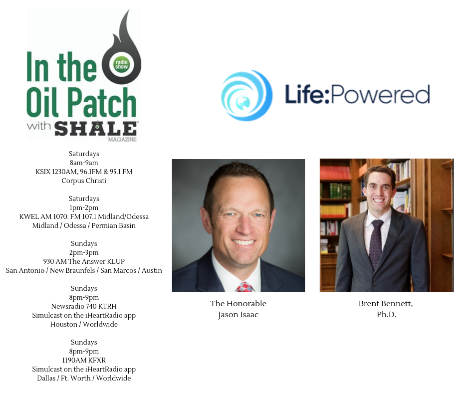 In The Oil Patch Episode 216 - Jason Isaac And Brent Bennett Life