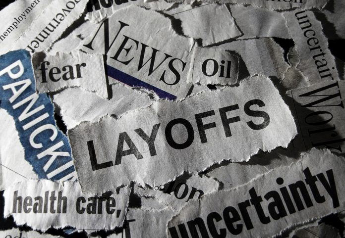 Shale industry expecting layoffs