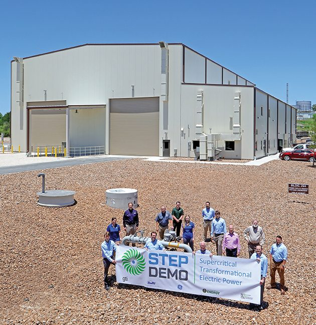 Making Strides in High-Efficiency Power Generation With the STEP 10 MWe Pilot Project